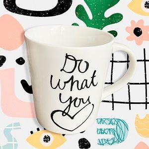 "Indigo ""Do What You Love"" Dishwasher Safe Mug"